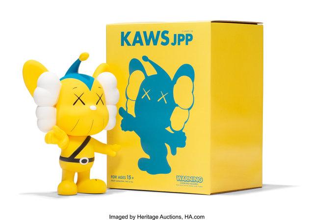 KAWS, 'JPP (Yellow)', 2008, Heritage Auctions