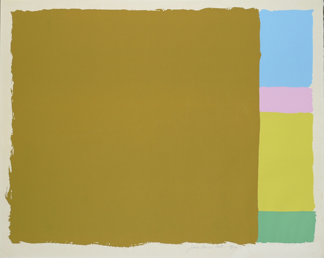 Jack Bush, 'Untitled', 1968, Nikola Rukaj Gallery