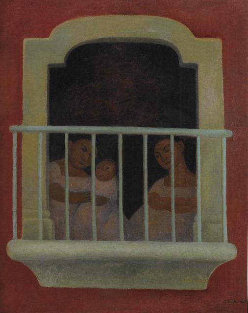 , 'El Balcon,' 1921, Gary Nader