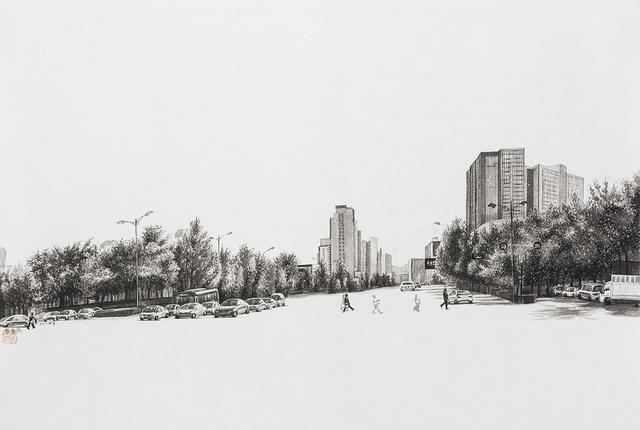, 'Crossroads No. 1,' 2014, Pékin Fine Arts
