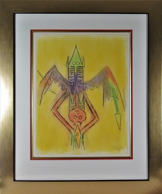 Wifredo Lam, 'Innocence, from the suite, Pleni Luna.', 1974, Joseph Grossman Fine Art Gallery