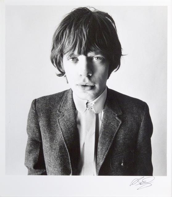 , 'Mick Jagger,' 1964, Galleria Valeria Bella