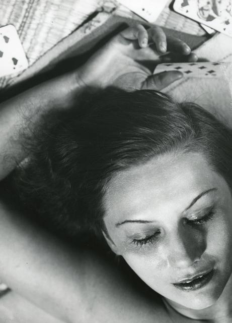 , 'Portrait Composition (Femme aux Cartes),' 1930, Atlas Gallery