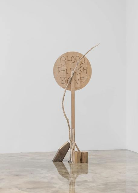 Seoyoung Chung, 'Blood, Flesh, Bone', 2019, Sculpture, Wood, Barakat Contemporary