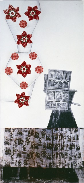 Robert Rauschenberg, 'Park / ROCI MEXICO', 1985, Mixed Media, Acrylic, collage, and graphite on canvas, Robert Rauschenberg Foundation