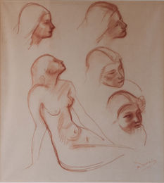 Studies of a Figure