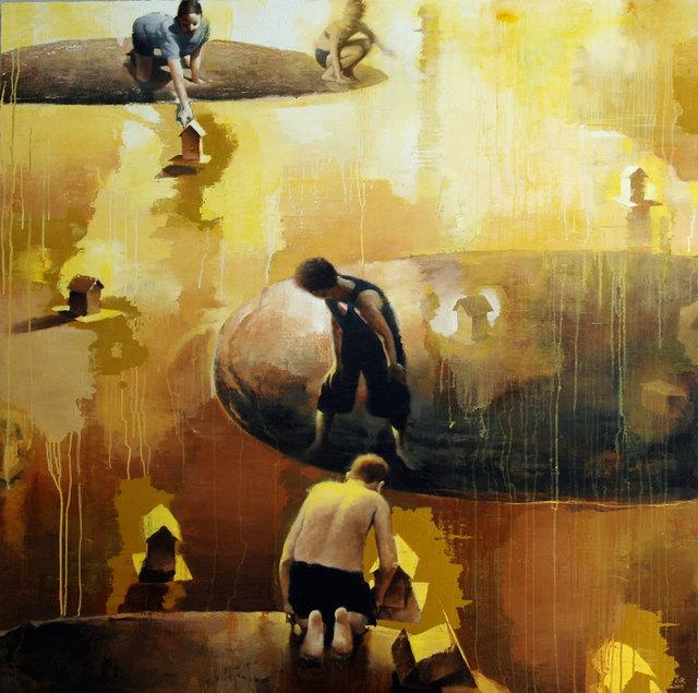 , 'Small Journeys,' 2015, Gallery Henoch