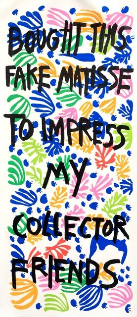 , 'Matisse to Impress ,' 2018, Imitate Modern