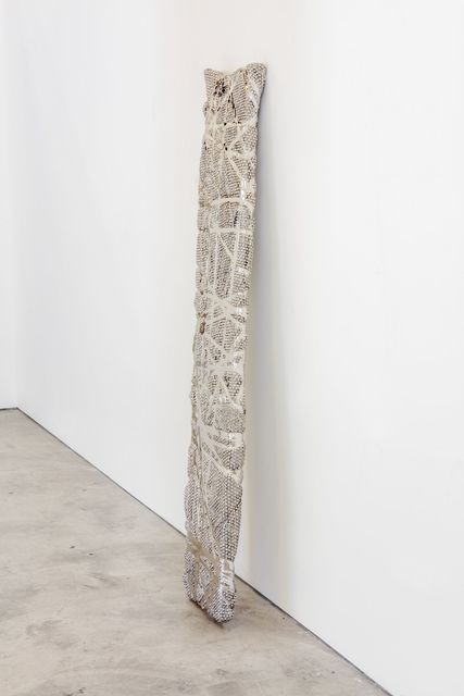 Joel Morrison, 'Bubble Wrap Plank in Bondage', 2018, Sculpture, Stainless steel, Almine Rech
