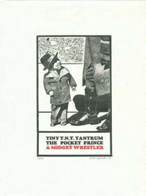 , 'Tiny Tim T.N.T. (from eighteen small prints),' 1973, Bernard Jacobson Gallery