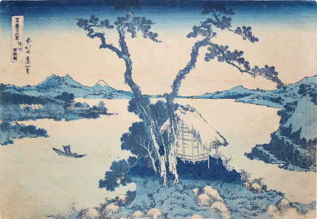 , 'Lake Suwa,' 1832, Ronin Gallery