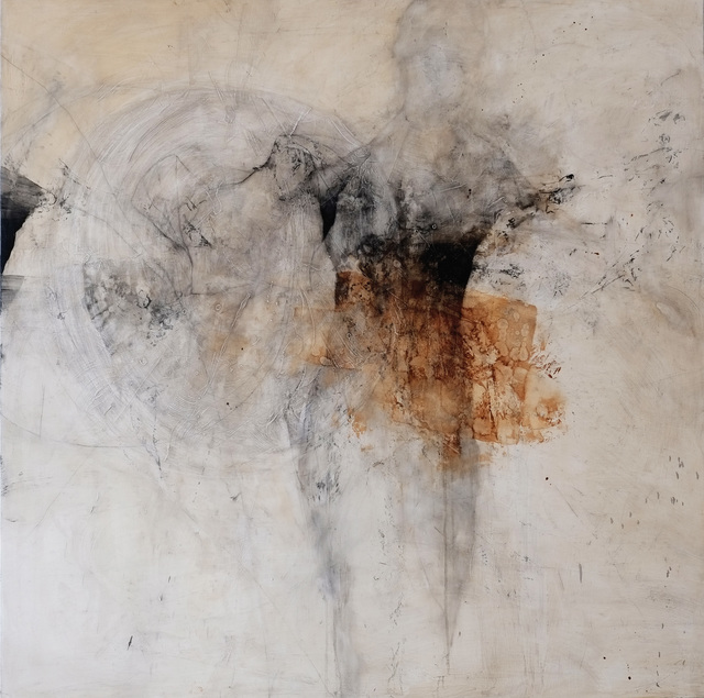 Nathalie Deshairs, 'Guerrier Ocre', 2018, Painting, Oil on canvas, Bogena Galerie