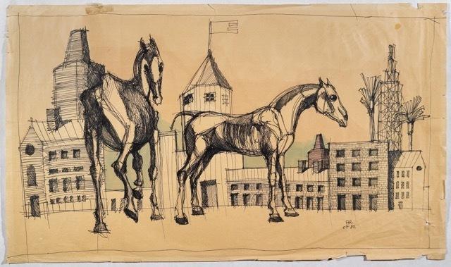 , 'S.t.,' 1982, Antonia Jannone Disegni di Architettura