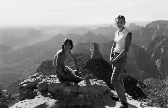 Lee Friedlander, 'Erik and Anna, Grand Canyon', 1977, Etherton Gallery