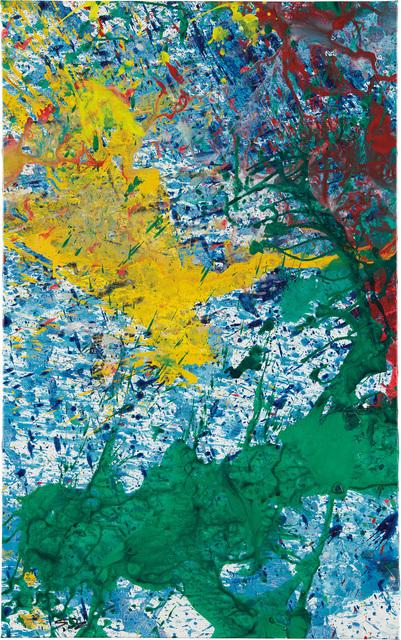 Shozo Shimamoto, 'Untitled', 2010, Phillips