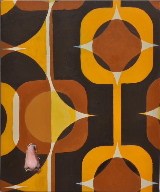, 'Nez au Géo,' 2016, Galerie Thomas Bernard