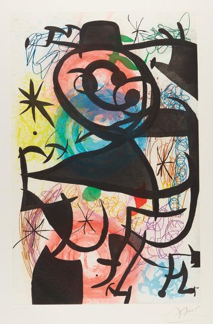 Joan Miró, 'Le Pitre rose (The Pink Clown)', 1974, Phillips