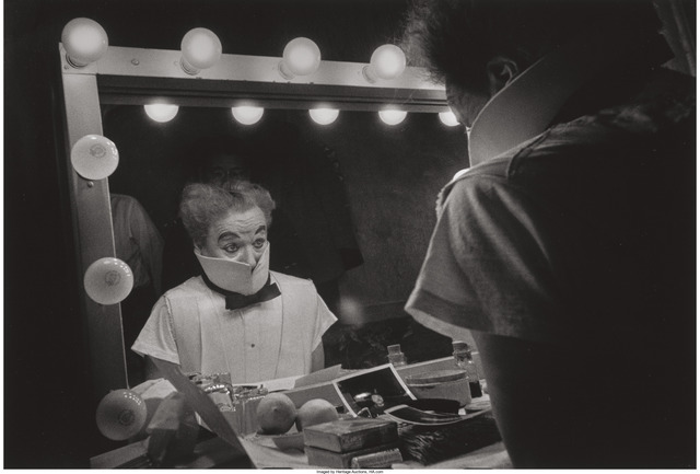 W. Eugene Smith, 'Charlie Chaplin looking in a mirror', 1952, Heritage Auctions