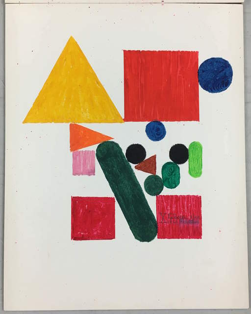 , 'X,' 1969, Inman Gallery