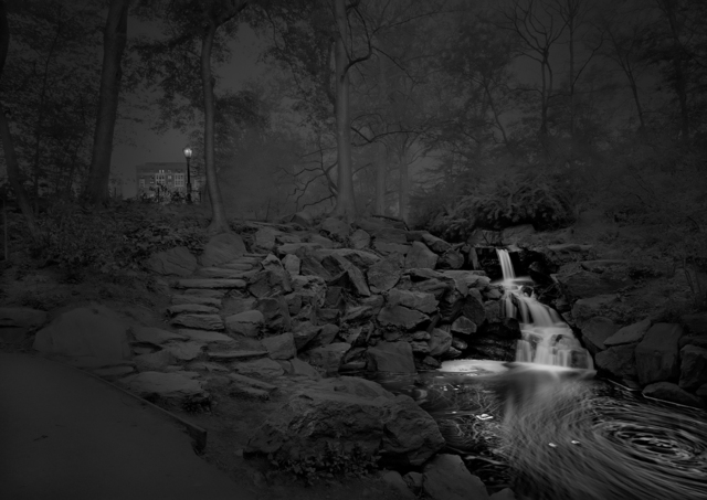 , 'North Woods Exit - Pre Dawn - Deep In A Dream - Central Park,' 2012, Holden Luntz Gallery