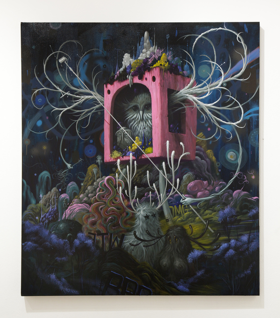 , 'Night Nest,' 2014, Jonathan LeVine Projects