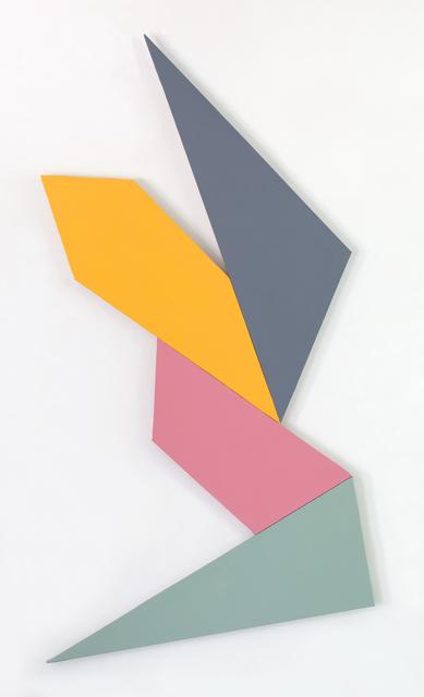 Kenneth L. Greenleaf, '4-Polarity', 2014, Berry Campbell Gallery