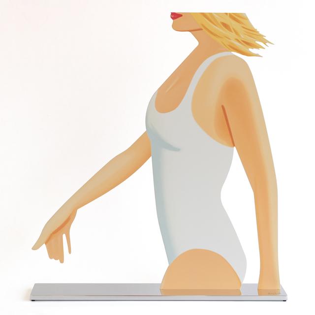 Alex Katz, 'Coca Cola Girl 1 (cutout)', 2019, Haw Contemporary