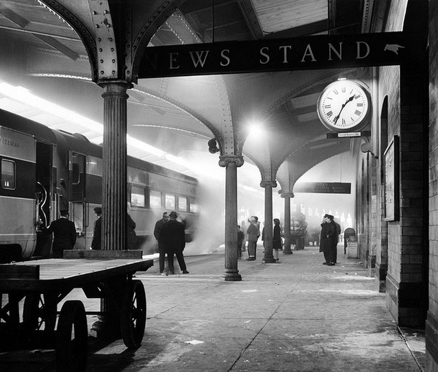 , 'Delaware, Lackawanna and Western Railroad Station, Scranton, Pennsylvania,' 1964, ClampArt