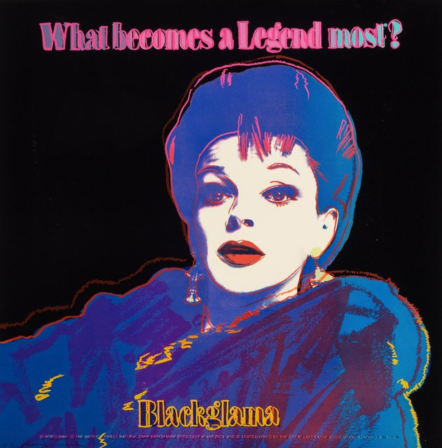 Andy Warhol, 'Blackglama (Judy Garland), from the Ads portfolio', 1985, Print, Screenprint in colors on Lenox Museum Board, Heritage Auctions