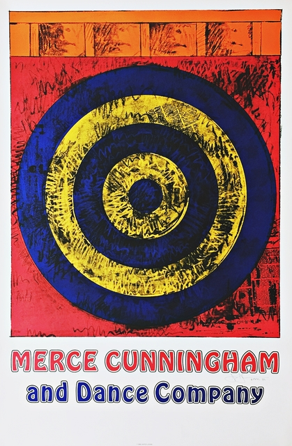 Jasper Johns, 'Merce Cunningham and Dance Company (Hand Signed)', 1968, Alpha 137 Gallery
