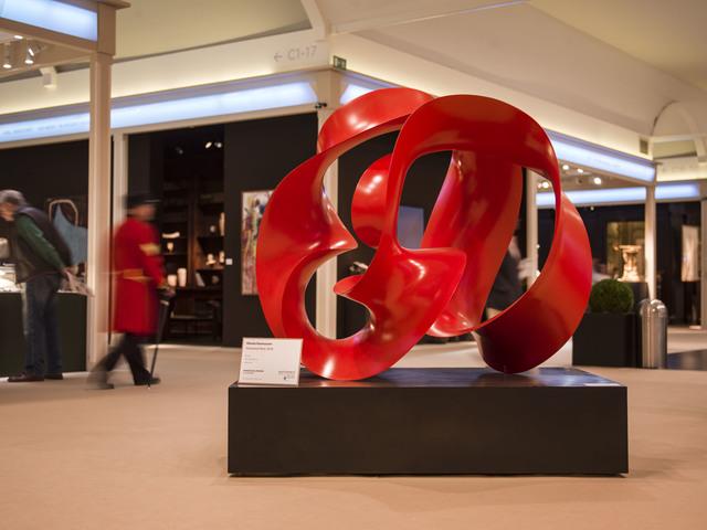 Merete Rasmussen, 'Perpetual red', 2015, Pangolin London