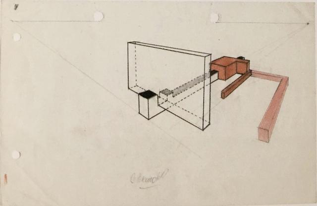 Noemi Escandell, 'Boceto para estructura', 1966, Herlitzka + Faria