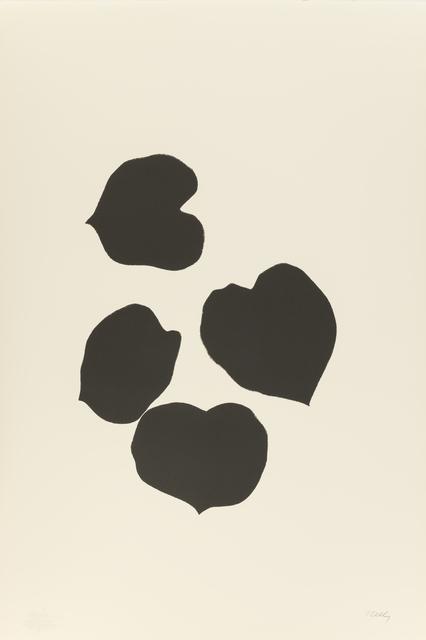 , 'Grape Leaves III,' 1973-1974, Susan Sheehan Gallery