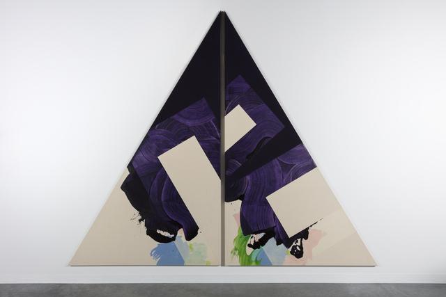 Robert Reed, 'Plum Nellie Split, November Reason #2', 1972, Pilar Corrias Gallery