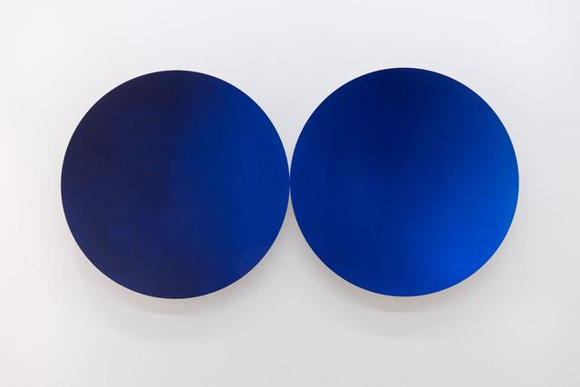 , 'Two Blues (Glisten),' 2018, GALLERIA CONTINUA