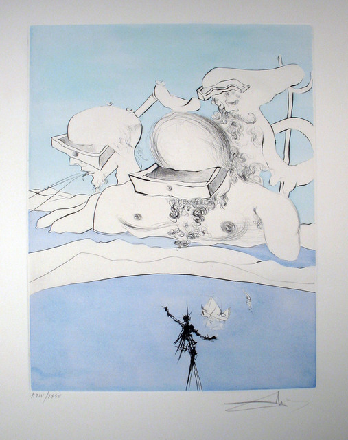 Salvador Dalí, 'Flung Out Like a Fag-end by the Big-wigs', 1974, DTR Modern Galleries
