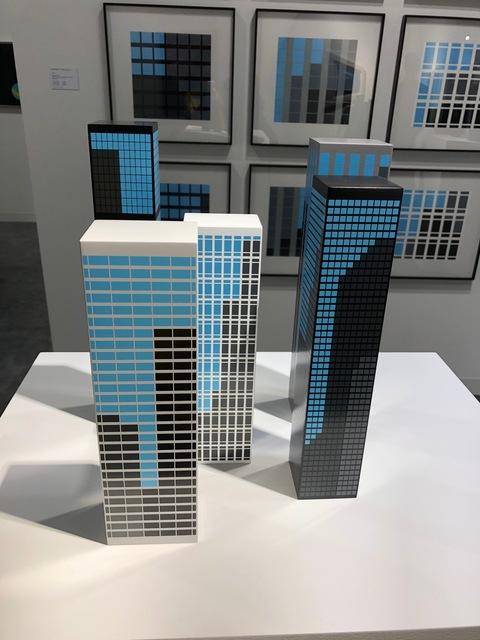 , 'Modern Towers 1,' 2017, Frank Fluegel Gallery
