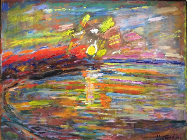 , 'Evening on the Volga,' 2014, Museum Painting Gallery