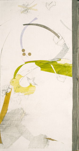 Zsolt Tibor, 'flipperstadt', 2009, Painting, Graphite, colour pencil, gouache on canvas, VILTIN Gallery