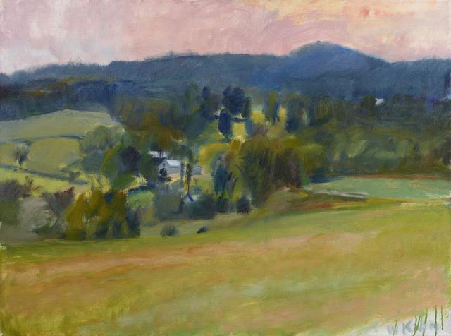 , 'Overview on Ames Hill – Midsummer,' 1979, Debra Force Fine Art