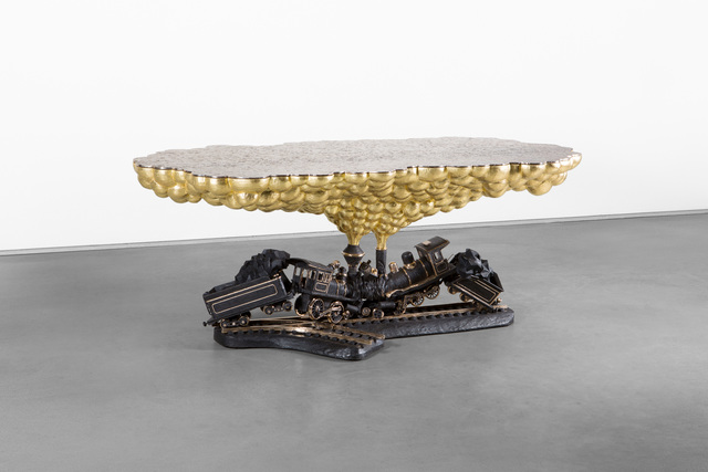 , 'Train Crash Table,' 2014, Carpenters Workshop Gallery