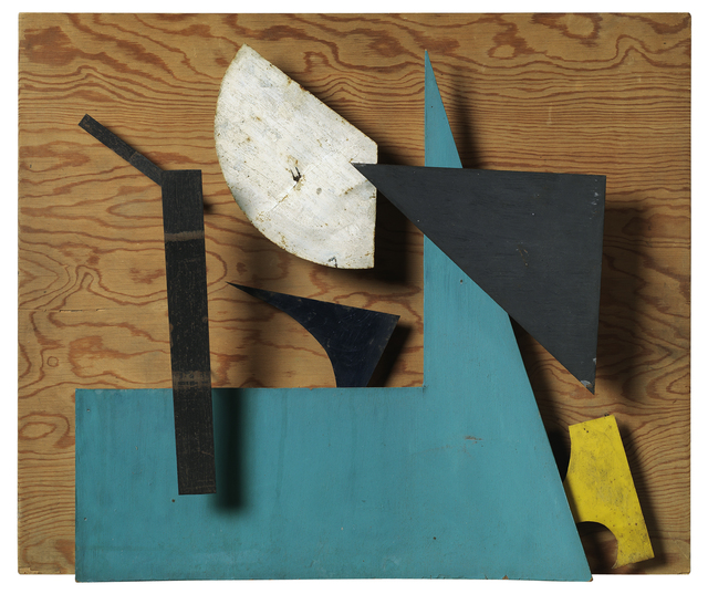 , 'Méta-mécanique - Sprit - Bleu ocre et vert ,' 1955, Galerie Natalie Seroussi