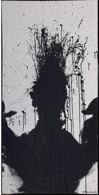 , 'Shadow Head ,' 1992, Maddox Gallery