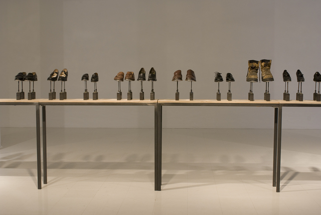 , 'Symphony for 54 Shoes,' 2006, Art Mûr