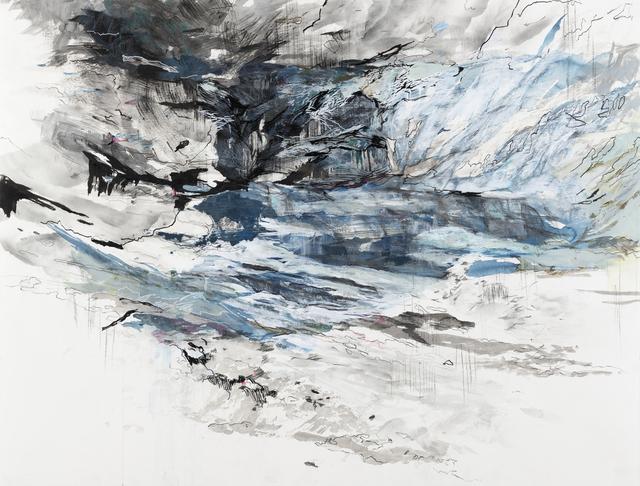 """, 'Fluid Topography (61°31'55.43""""N 142°55'8.44""""W),' 2018, Gallery Neptune & Brown"""