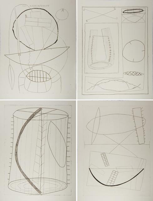 Jürgen Partenheimer, 'The San Francisco Etchings: Ship of Fools', 1984, Rago