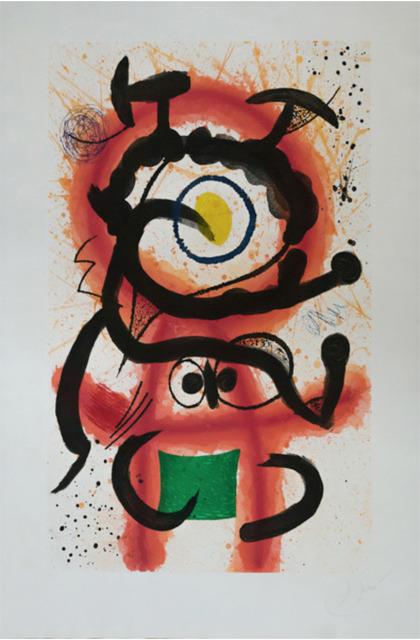 Joan Miró, 'Mambo (D. 1002)', 1978, Vanessa Villegas Art Advisory