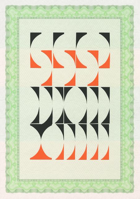 , 'De la serie Artesanías Modernas (7),' 2014, Oficina #1