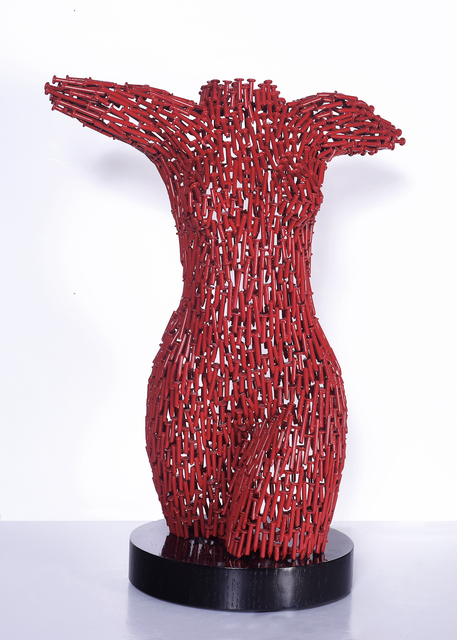 Niso Maman, 'Female Torso - Welded Nails RED', Blue Gallery