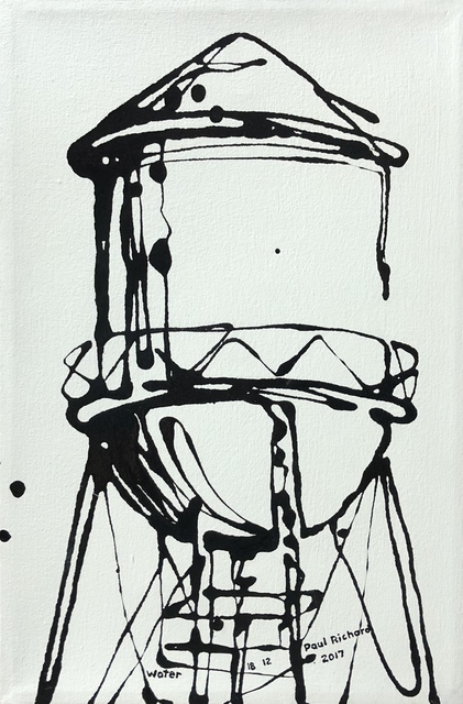 , 'Water Tower,' 2017, 212 Arts